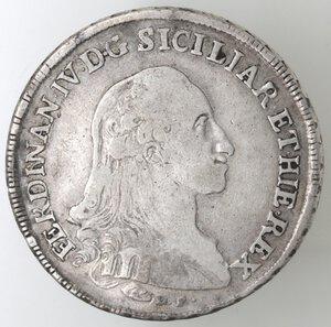 obverse: Napoli.Ferdinando IV. 1759-1798.Piastra 1789 D.P. Ag. Mag. Manca.