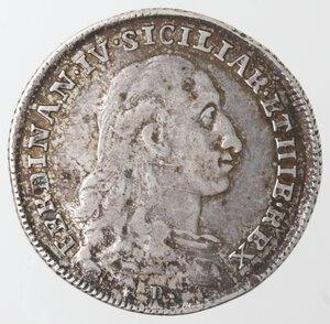 obverse: Napoli. Ferdinando IV. 1759-1798. Tarì 1788. Ag.