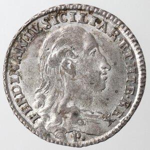 obverse: Napoli. Ferdinando IV. 1759-1799. Tari  1793. Ag.