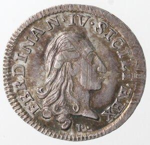 obverse: Napoli. Ferdinando IV. 1759-1799. Carlino 1788 SICILI. Ag.