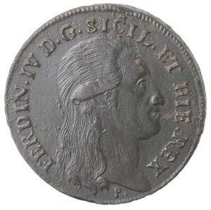 obverse: Napoli. Ferdinando IV. 1759-1799. 8 Tornesi 1797. Ae.