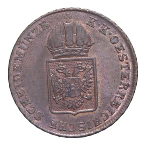 obverse: AUSTRIA FRANCESCO I 1 KREUZER 1816 A CU 8,44 GR. SPL+