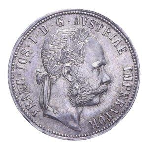 obverse: AUSTRIA FRANCESCO GIUSEPPE I 1 FLORIN 1889 AG. 12,36 GR. SPL