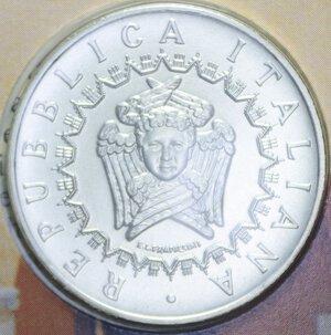 obverse: 5000 LIRE 1993 UNIVERSITA  PISA AG. 18 GR. IN FOLDER FDC
