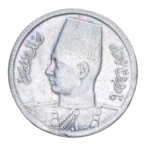 obverse: EGITTO FAROUK 2 QIRSH 1942 AG. 2,72 GR. BB