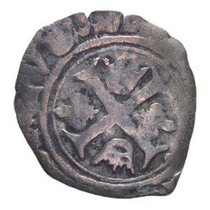 obverse: FRANCIA CARLO VIII (1483-1498) LIARD CON DELFINO AG. 0,87 GR. MB/MB-BB