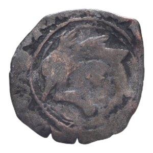 reverse: FRANCIA CARLO VIII (1483-1498) LIARD CON DELFINO AG. 0,87 GR. MB/MB-BB