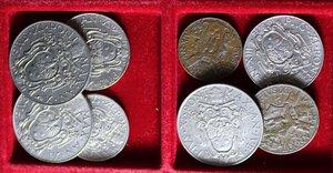 reverse: PIO XI (1929-1938) LOTTO 40 MONETE CON AG. VARIE CONSERVAZIONI