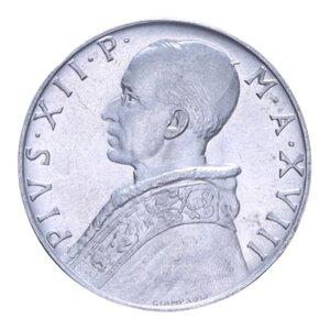 obverse: PIO XII (1939-1958) 10 LIRE 1956 1,6 GR. FDC