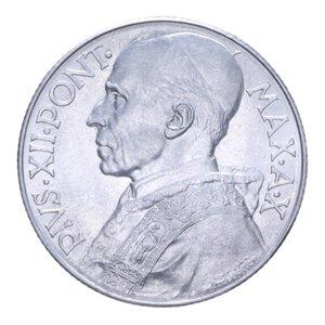 obverse: PIO XII (1939-1958) 5 LIRE 1948 2,53 GR. FDC (SEGNETTI)