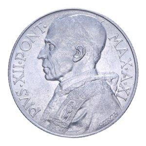 obverse: PIO XII (1939-1958) 5 LIRE 1949 2,48 GR. qFDC (SEGNETTI)