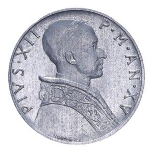 obverse: PIO XII (1939-1958) 5 LIRE 1953 1 GR. FDC
