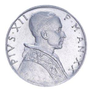 obverse: PIO XII (1939-1958) 5 LIRE 1958 1 GR. FDC