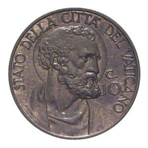reverse: PIO XII (1939-1958) 10 CENT. 1941 R BA 4,9 GR. FDC