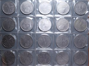 obverse: PIO XII (1939-1958) LOTTO 33 MONETE VARIE CONSERVAZIONI
