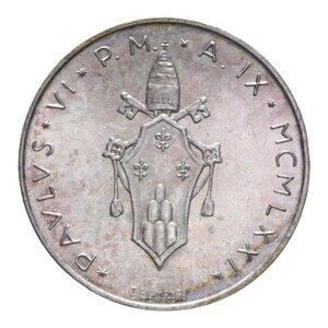 obverse: PAOLO VI (1963-1978) 500 LIRE 1971 AG. 11 GR. FDC