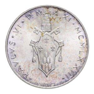 obverse: PAOLO VI (1963-1978) 500 LIRE 1973 AG. 11 GR. FDC