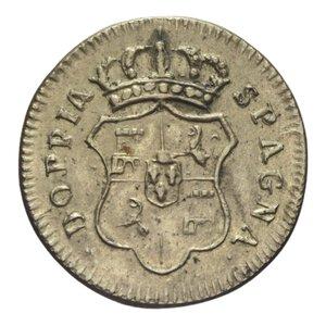 reverse: PESO MONETALE DOPPIA DI SPAGNA 7,11 GR. BB+