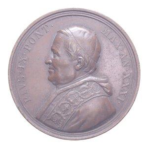 reverse: PIO IX MEDAGLIA 1871 AN. XXXI CU 37,54 GR. 44 MM. BB+