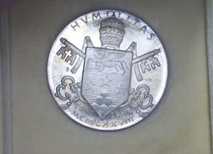 obverse: GIOVANNI PAOLO I MEDAGLIA 1978 AG. 41,76 GR. 44 MM. IN COFANETTO FDC
