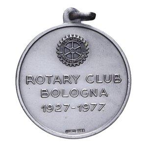 obverse: MEDAGLIA BOLOGNA ROTARY CLUB AG. 15 GR. 33 MM. SPL-FDC