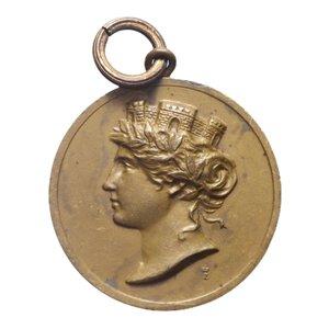 reverse: MEDAGLIA 1917 DIEDE ORO ALLA PATRIA 4 GR. 21 MM. SPL
