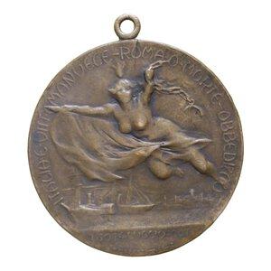 reverse: MEDAGLIA 1907 CENTENARIO GARIBALDI AE 9 GR. 32 MM. BB