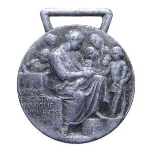 reverse: MEDAGLIA UNIONE FAMIGLIE NUMEROSE AL 13 GR. 36 MM. BB