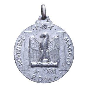 obverse: MEDAGLIA 1939 ROMA MOSTRA DEL MINERALE 7 GR. 33 MM. BB+