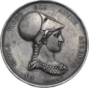 obverse: Accademia Fiorentina delle belle Arti. Medaglia premio 1813