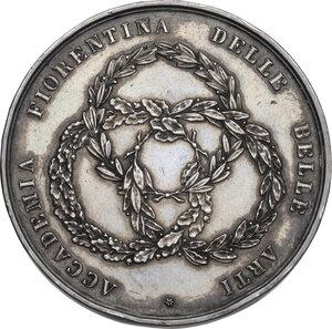 reverse: Accademia Fiorentina delle belle Arti. Medaglia premio 1813