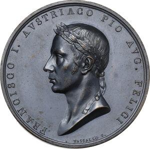 obverse: Francesco I d Asburgo e Lorena (1815-1835). Medaglia 1815 per l ingresso a Milano