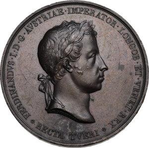 obverse: Ferdinando I d Asburgo-Lorena (1835-1848).. Medaglia 1838 per l incoronazione