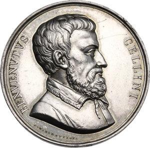 obverse: Benvenuto Cellini (1500-1571). Medaglia, XIX sec
