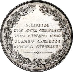 reverse: Benvenuto Cellini (1500-1571). Medaglia, XIX sec