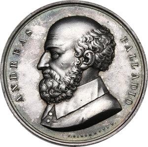 obverse: Andrea Palladio (1508-1580). Medaglia, XIX sec