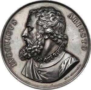 obverse: Ludovico Ariosto (1474-1533). Medaglia, XIX sec