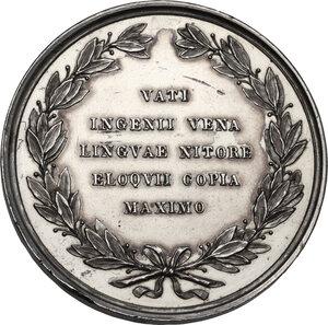 reverse: Ludovico Ariosto (1474-1533). Medaglia, XIX sec