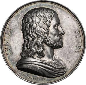 obverse: Giulio Pippi de  Jannuzzi, detto Giulio Romano (1499-1546).. Medaglia, XIX sec