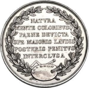reverse: Raffaello Sanzio (1483-1520).. Medaglia, XIX sec