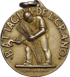 obverse: Medaglia A. XI, Commissione Provinciale Granaria per la Battaglia del Grano