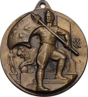 obverse: Medaglia IV Raduno Nazionale degli Artiglieri, Firenze 11-12-13-V-1935 XIII