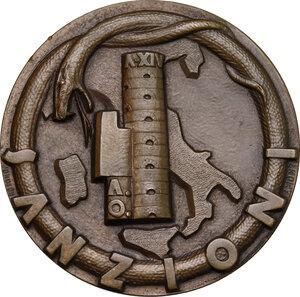 reverse: Medaglia A. XIV per le Sanzioni