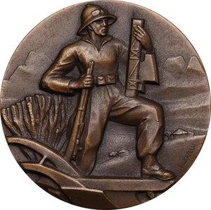 obverse: Medaglia A. XIV 1935-1936, Istituto Nazionale delle Assicurazioni