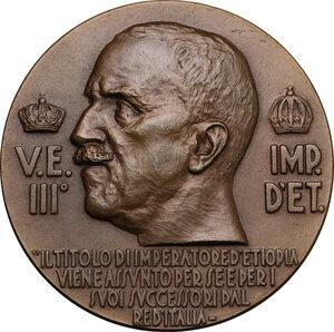 obverse: Medaglia A. XIV 1936, Vittorio Emanuele III Re d Etiopia