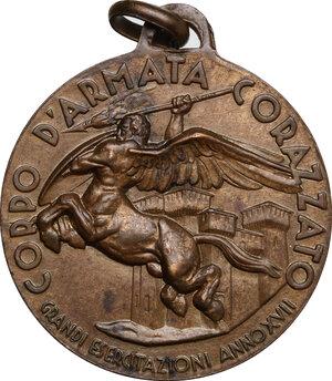 obverse: Medaglia A. XVII, Corpo d Armata Corazzato