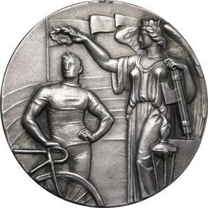 reverse: Medaglia premio senza data della Federazione Ciclistica Italiana