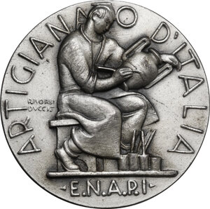 obverse: E.N.A.P.I.. Medaglia premio Artigianato d Italia