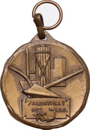 obverse: M.V.S.N.. Medaglia senza data 152° Legione Salentina