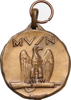 reverse: M.V.S.N.. Medaglia senza data 152° Legione Salentina